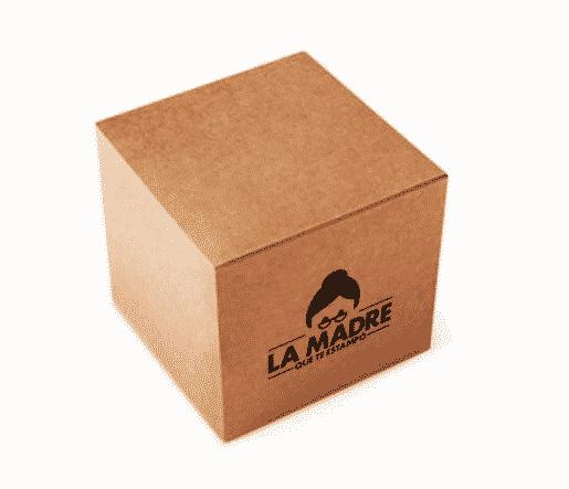 caja de carton la madre que te estampó