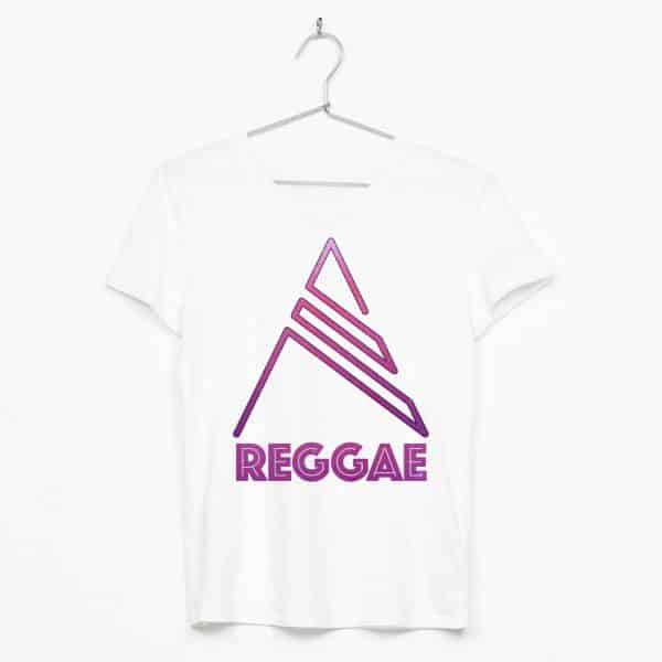 Purple reggae text & simbol