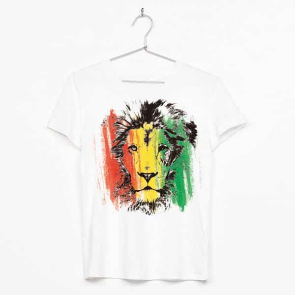 león reggae bandera