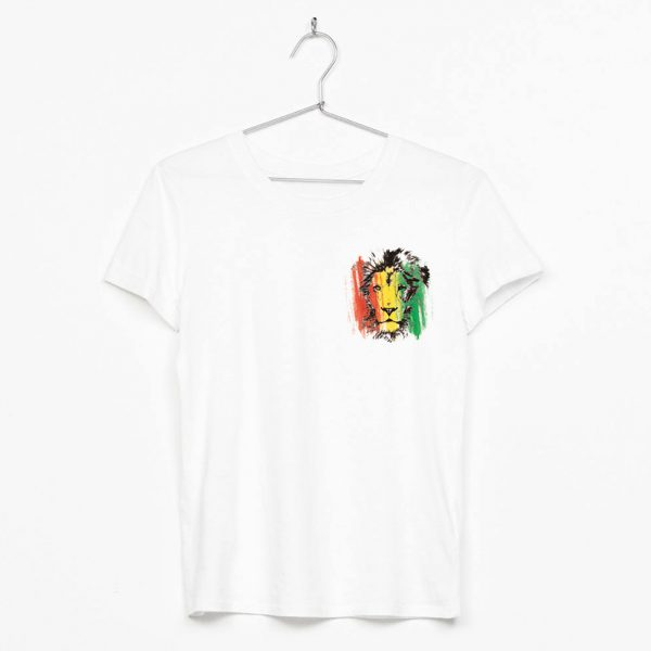rototom león reggae escudo pecho