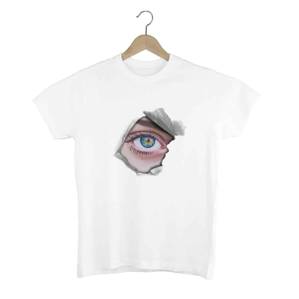 Camiseta Eye Paper