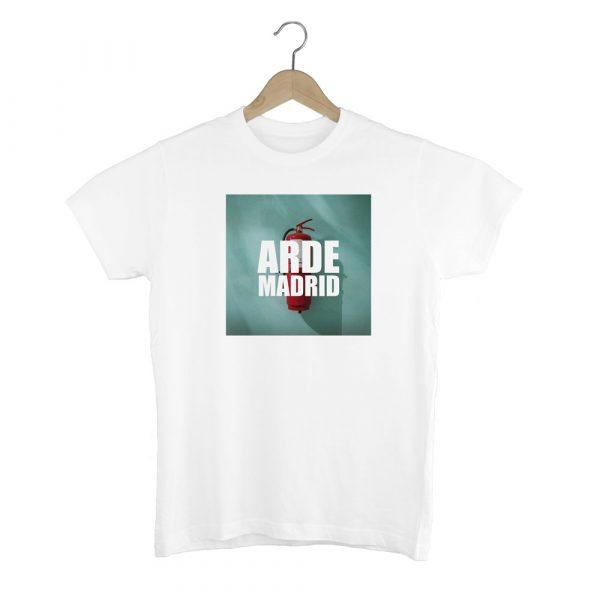 Camiseta Arde Madrid