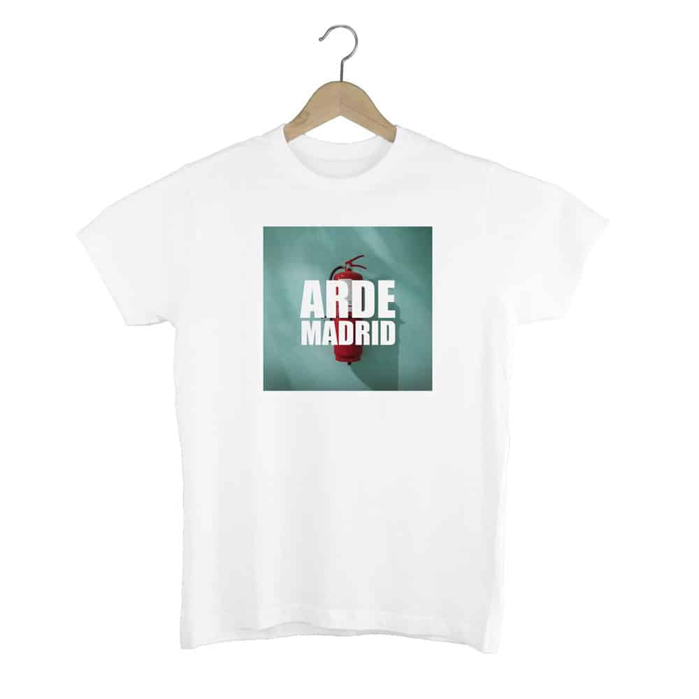 Camiseta Arde Madrid