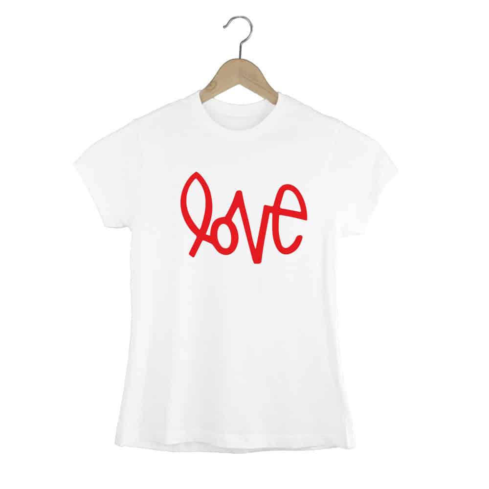 Camiseta Entallada Love