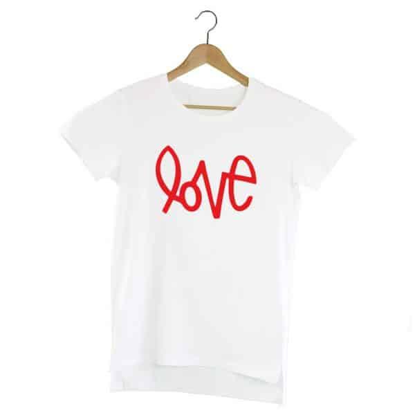 Camiseta Extralong Love