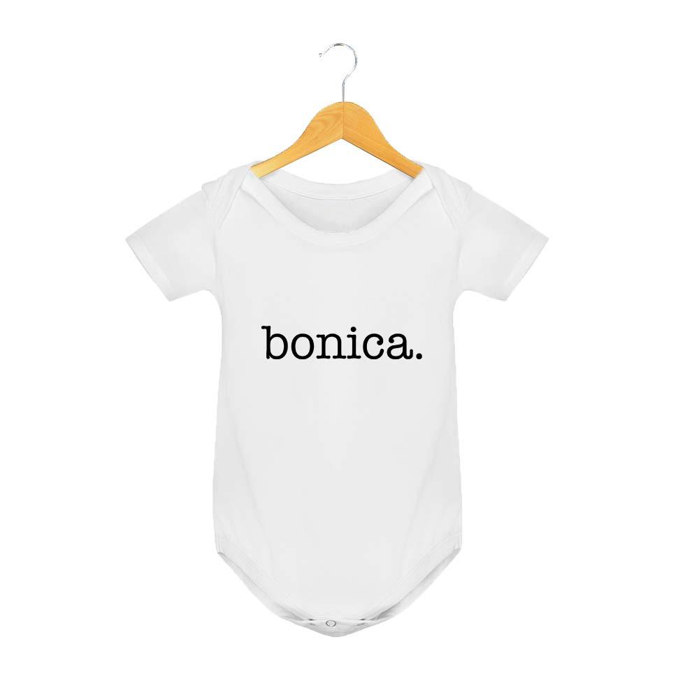 Body Manga Corta Bonica