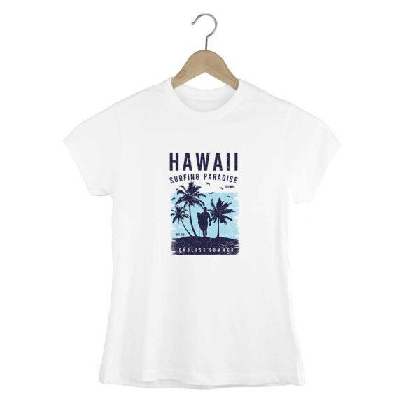 Camiseta entallada Hawaii
